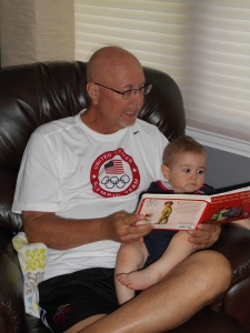 Reading to Jethro